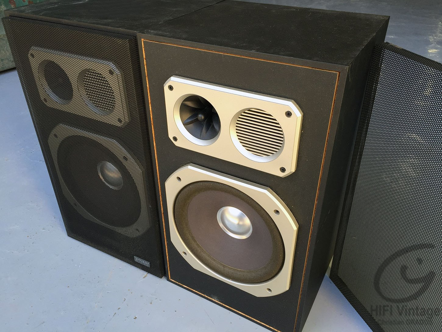 telefunken sound reflex 1 hifi vintage r paration. Black Bedroom Furniture Sets. Home Design Ideas