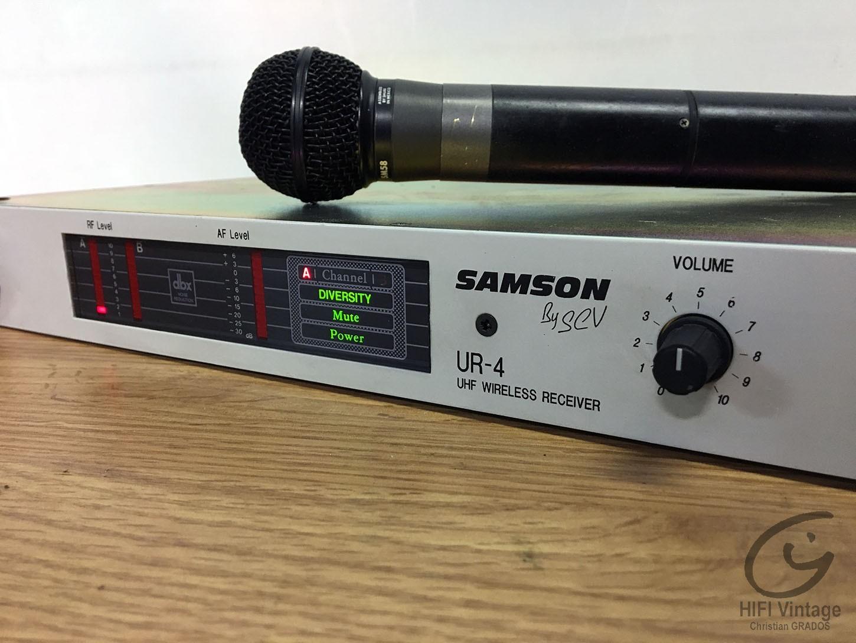 SAMSON UR-4 Hifi vintage réparations