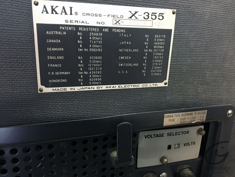 AKAI X-355