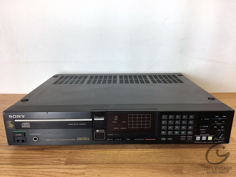 SONY CDP-502ES Hifi vintage réparations