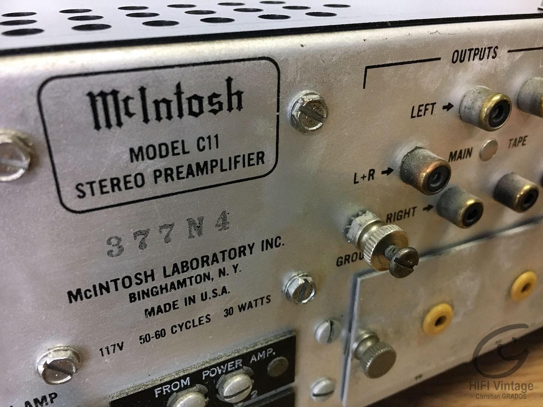 McINTOSH C-11
