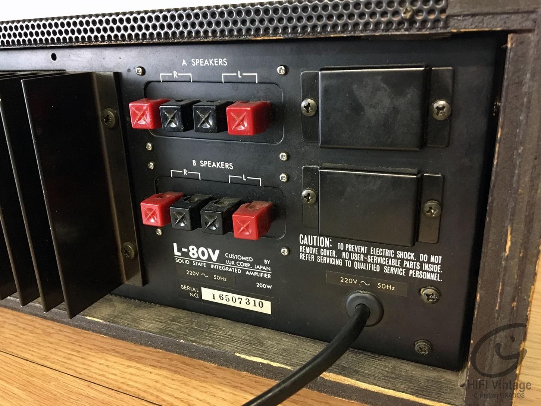 LUXMAN L-80V