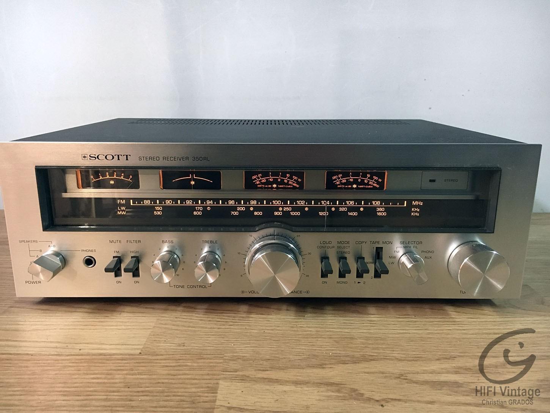 SCOTT 350-RL Hifi vintage réparations