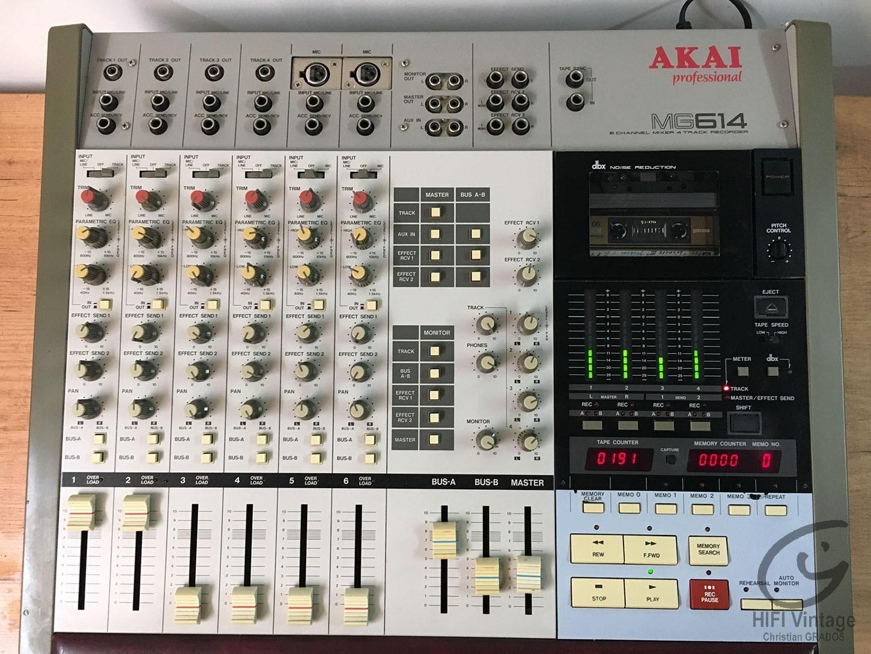 AKAI MG-614 Professionnel