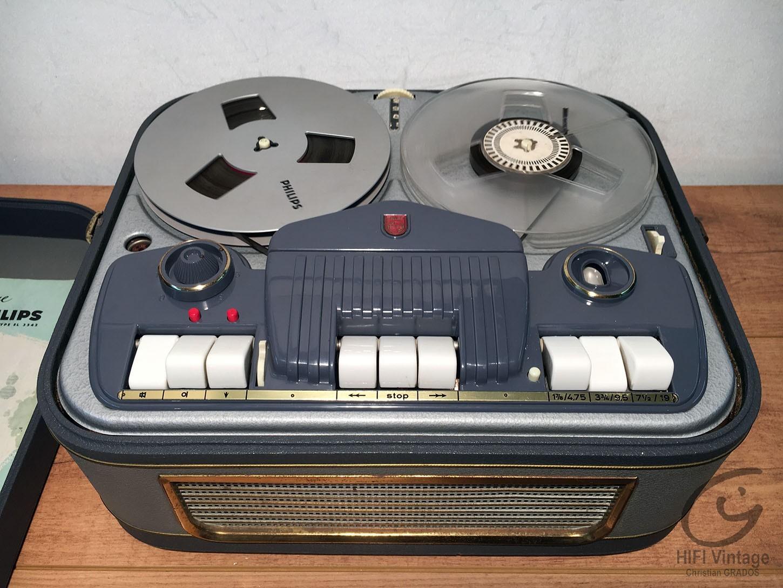 PHILIPS EL-3542 Hifi vintage réparations