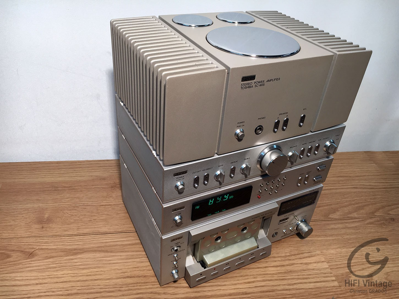 Toshiba AUREX Série 15 Hifi vintage réparations