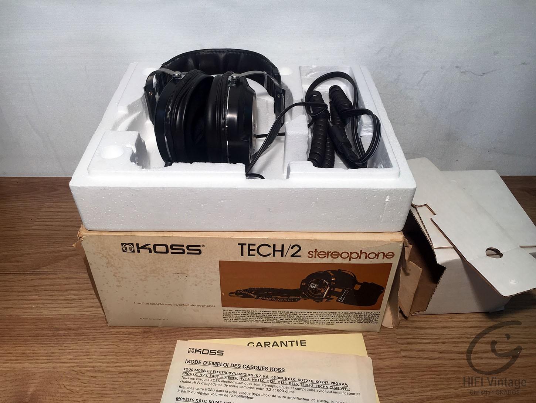 KOSS TECH-2 Hifi vintage réparations