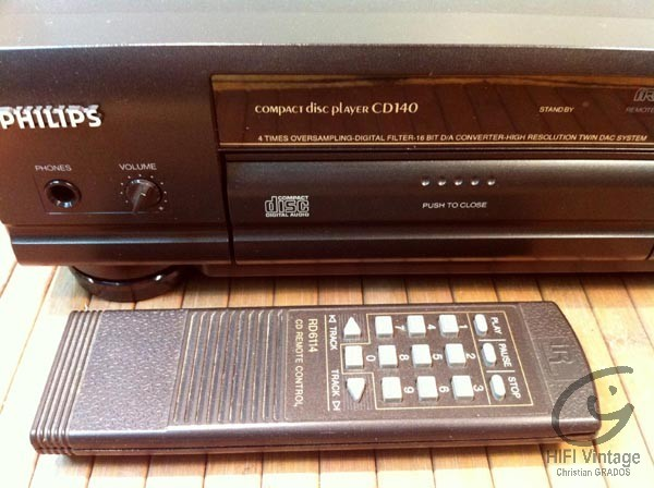 Manuel philips cd140