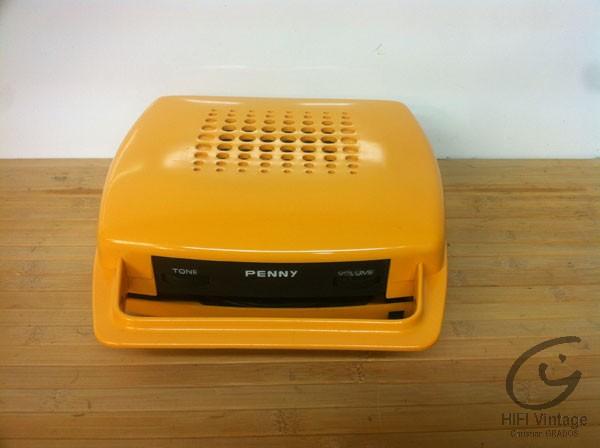 penny mange disque 45t orange hifi vintage r parations. Black Bedroom Furniture Sets. Home Design Ideas