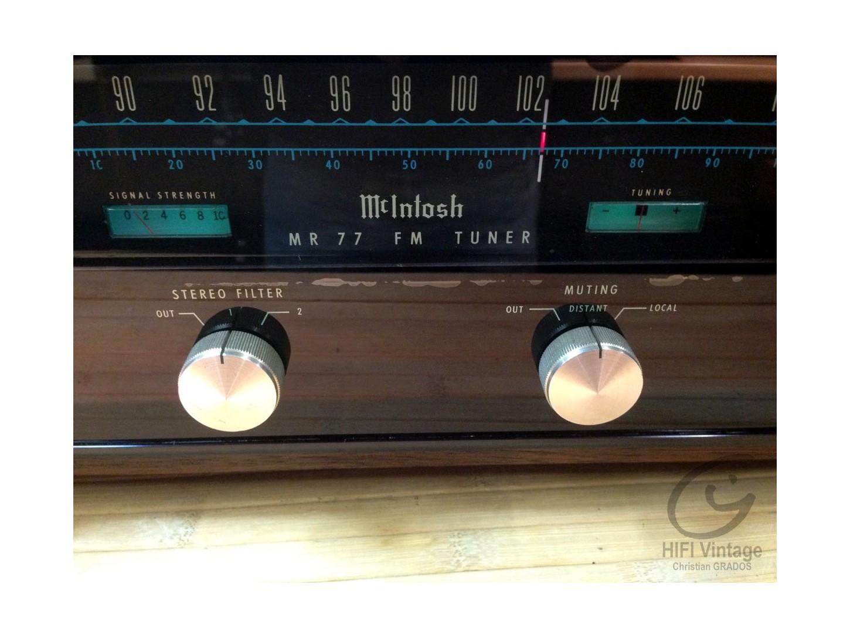 McIntosh MR-77 tuner Hifi vintage repairs