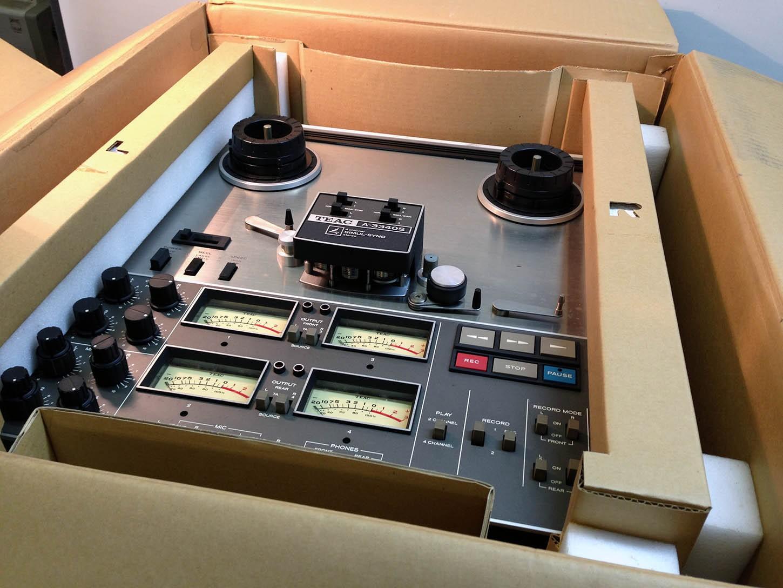 Teac A-3440 Hifi vintage réparations