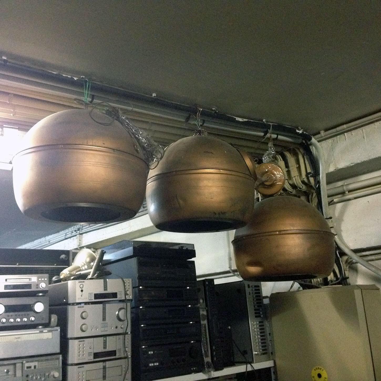 Boules GOODMANS à suspendre 30 cm Hifi vintage réparations