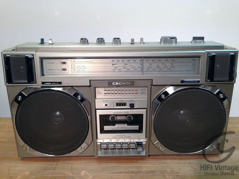 CROWN CSC-950-L Hifi vintage réparations