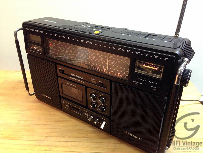 Grundig RR-1040 Hifi vintage réparations