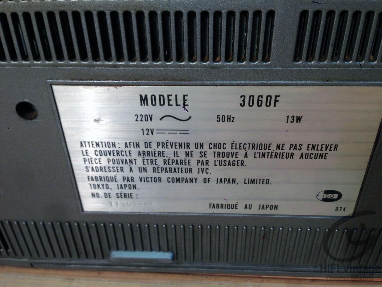 JVC Model 3060-F