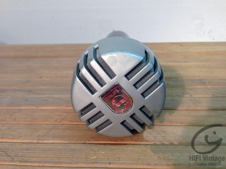PHILIPS Microphone EL-6020 Hifi vintage réparations