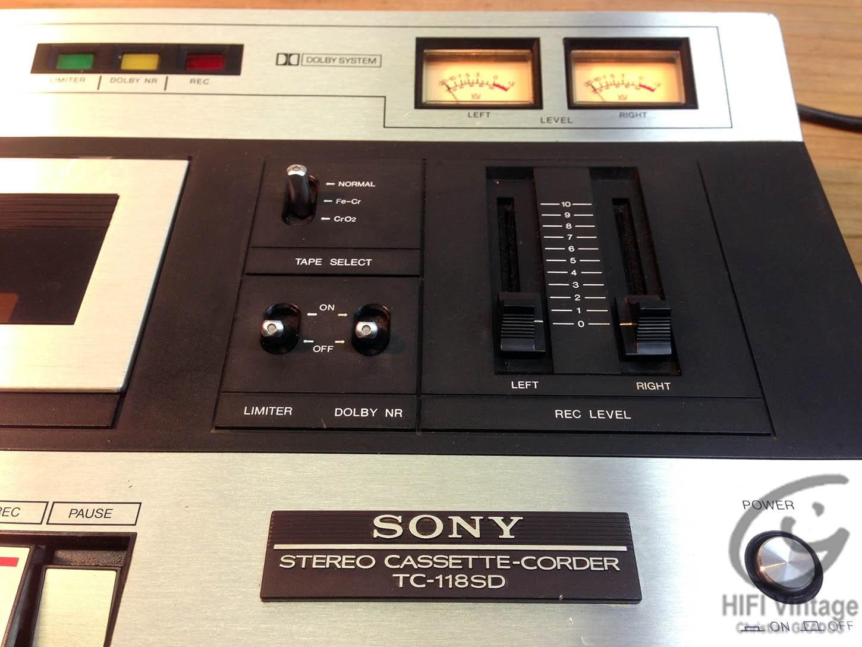SONY TC-118 SD