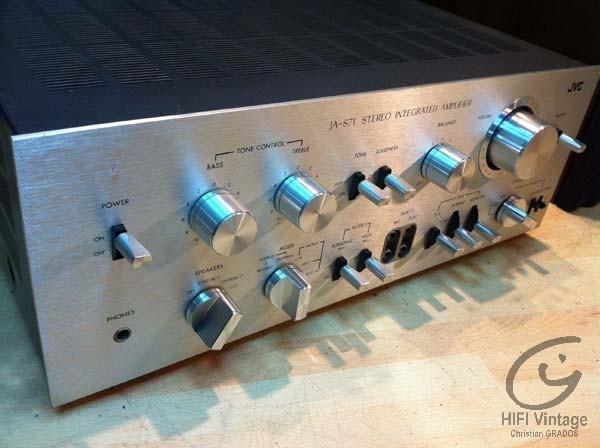 JVC JA-S71 Hifi vintage réparations