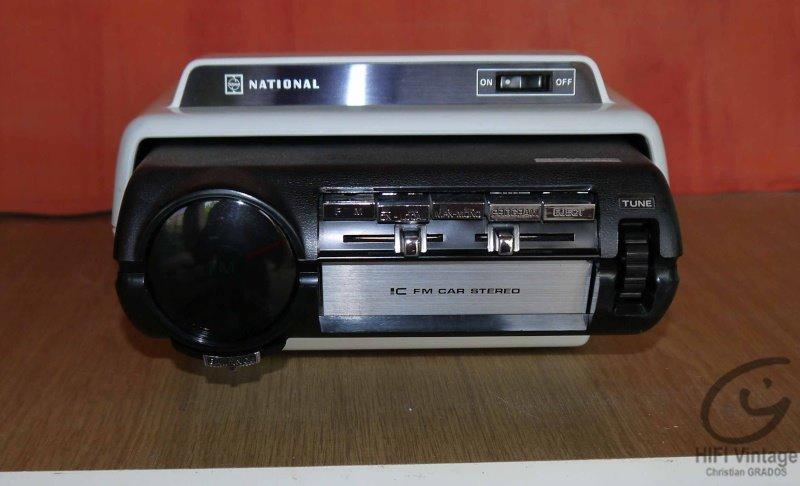 PANASONIC CQ-880EU Hifi vintage réparations