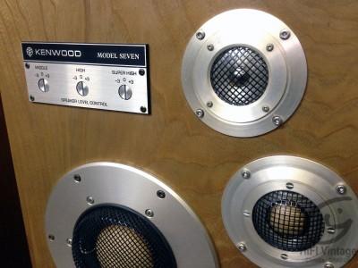Kenwood Model Seven hifi vintage réparateur