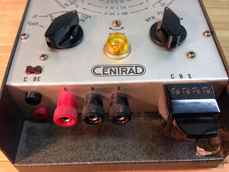 CENTRAD 391 Transistormètre