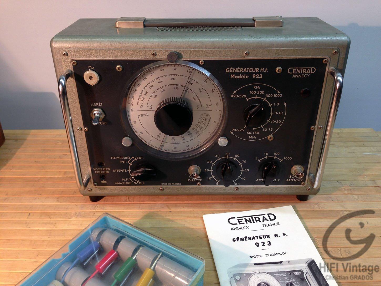CENTRAD 923 Générateur HF Hifi vintage réparations