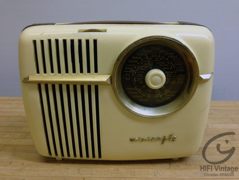 CAPTE Minicapte Hifi vintage réparations