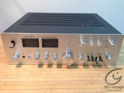 SCOTT 480-A amplificateur Hifi Vintage