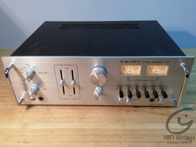 Scott A-437 Amplificateur Hifi Vintage