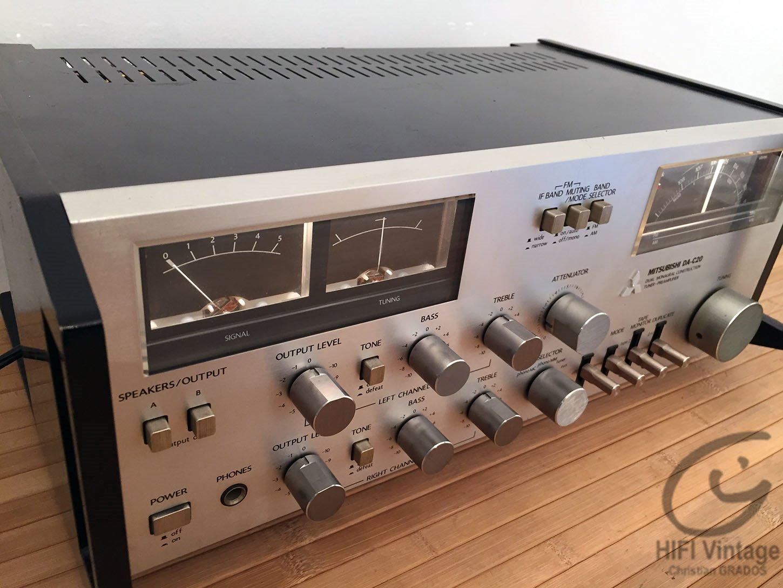 mitsubishi da c20 pr amplificateur tuner hifi vintage. Black Bedroom Furniture Sets. Home Design Ideas