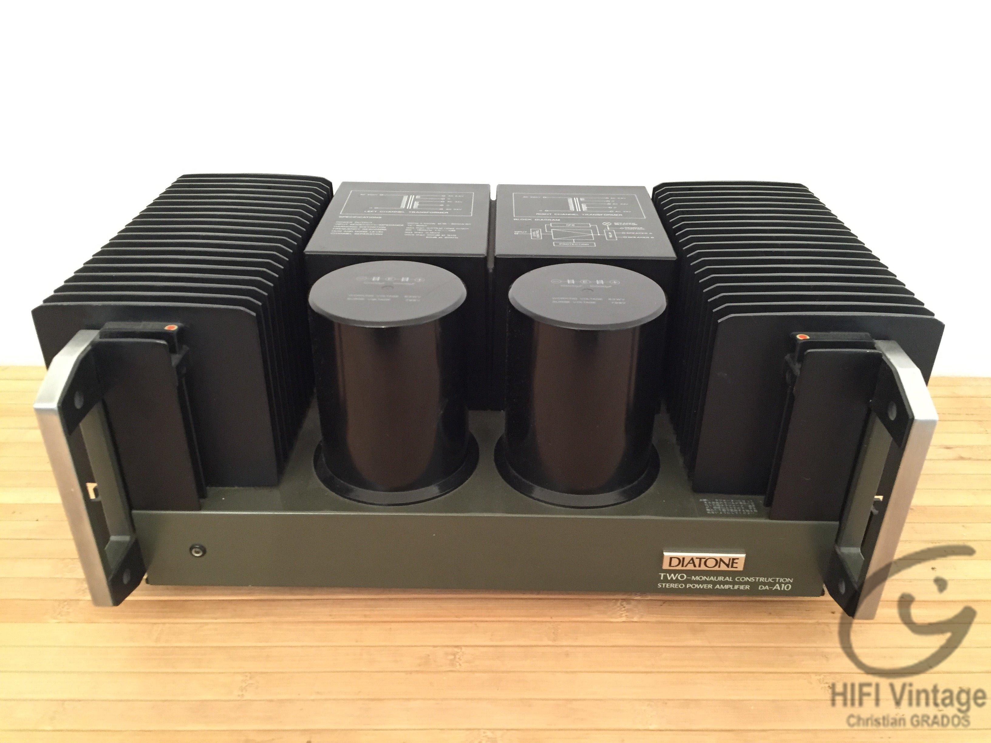Mitsubishi DA-A10 Amplifier Hifi vintage réparations