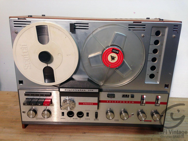 TELEFUNKEN 204 Hifi vintage réparations