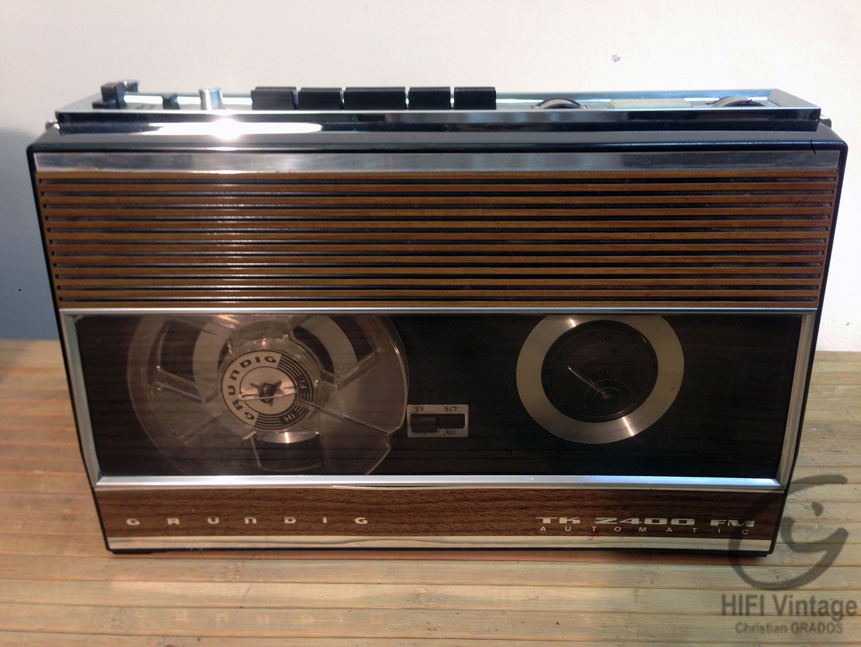 GRUNDIG TK-Z400-FM Hifi vintage réparations
