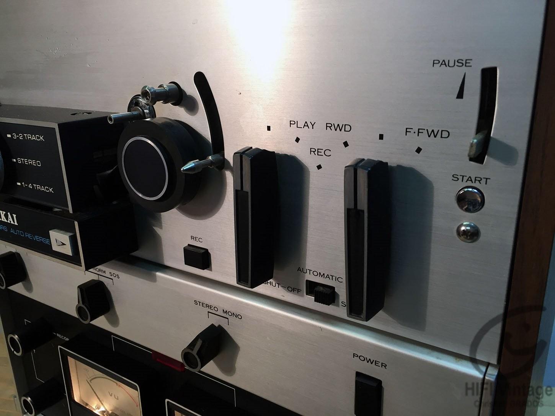 AKAI M-10 Hifi vintage réparations