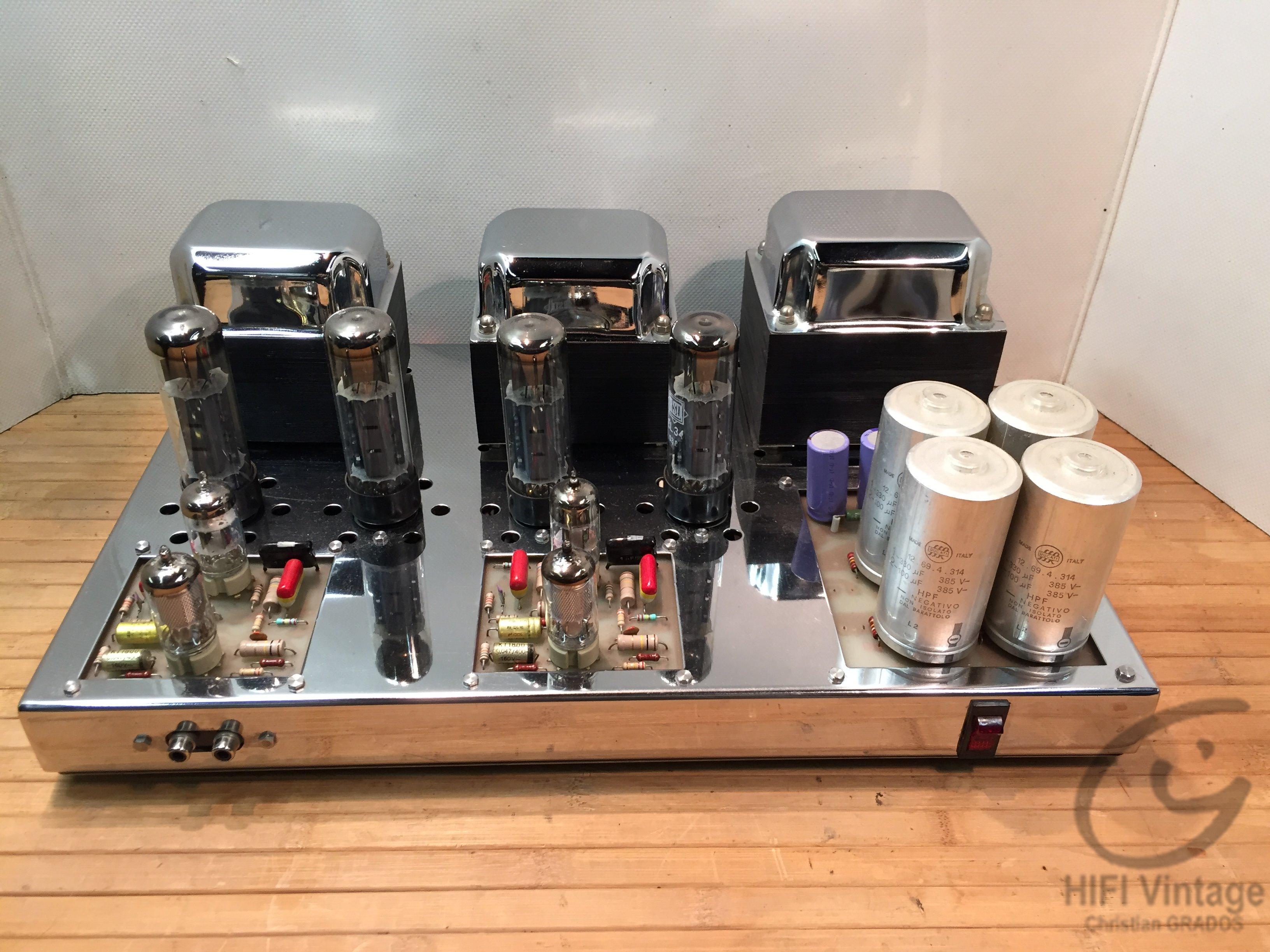 AMPLITON TS-3500 Hifi vintage réparations