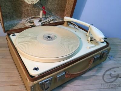 EDEN PU turntable suitcase 1960
