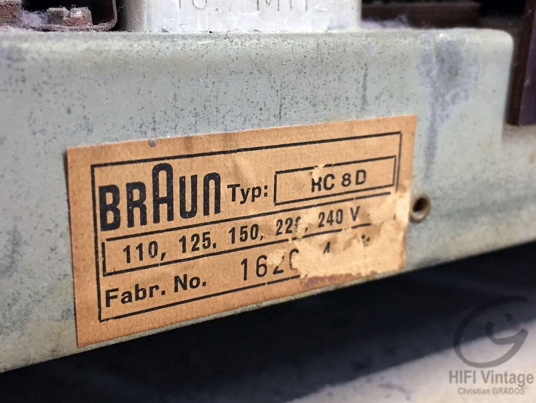 BRAUN CR-8-D