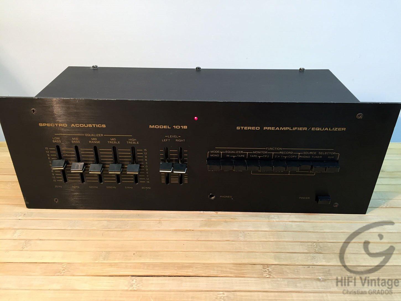SPECTRO AC 101-B Hifi vintage réparations