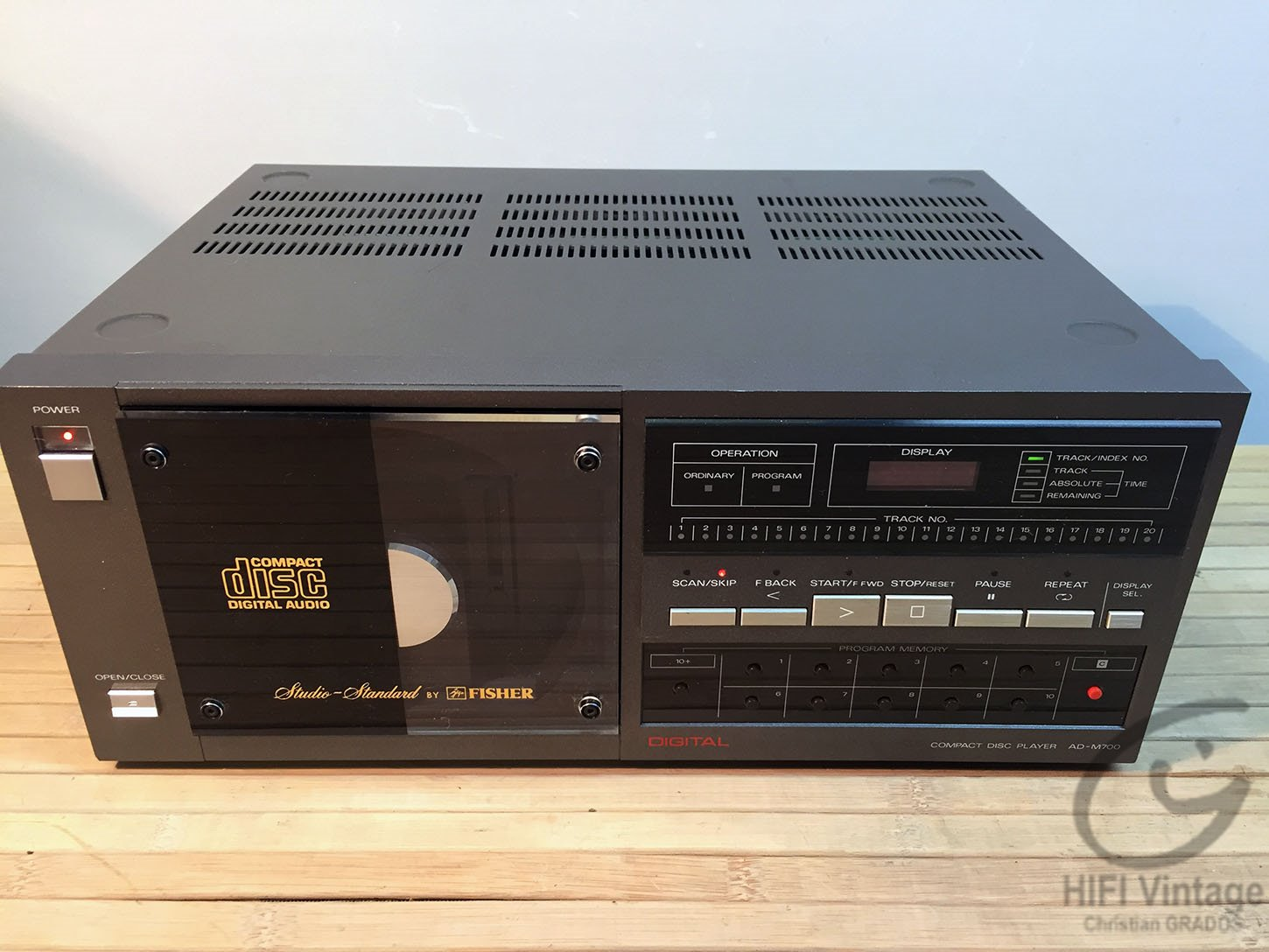 FISHER AD-M700 Hifi vintage réparations