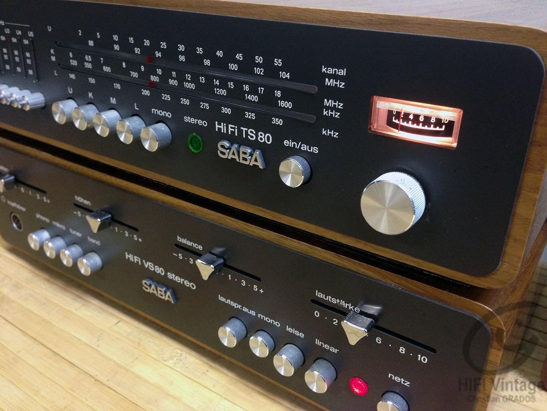 SABA TS VS-80 chaine complete