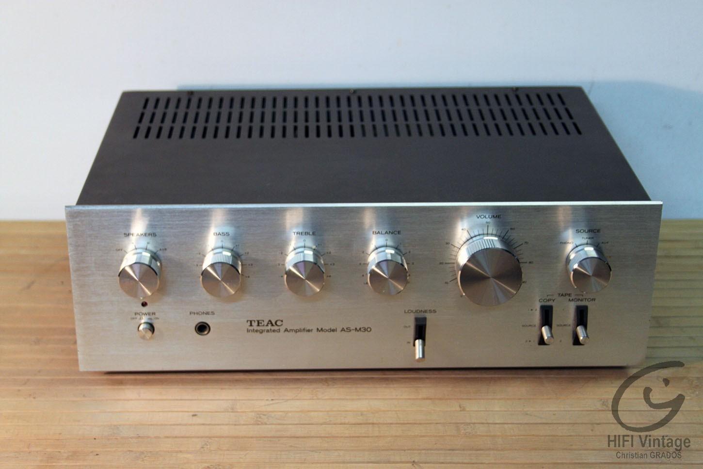 TEAC AS-M30 Hifi vintage réparations
