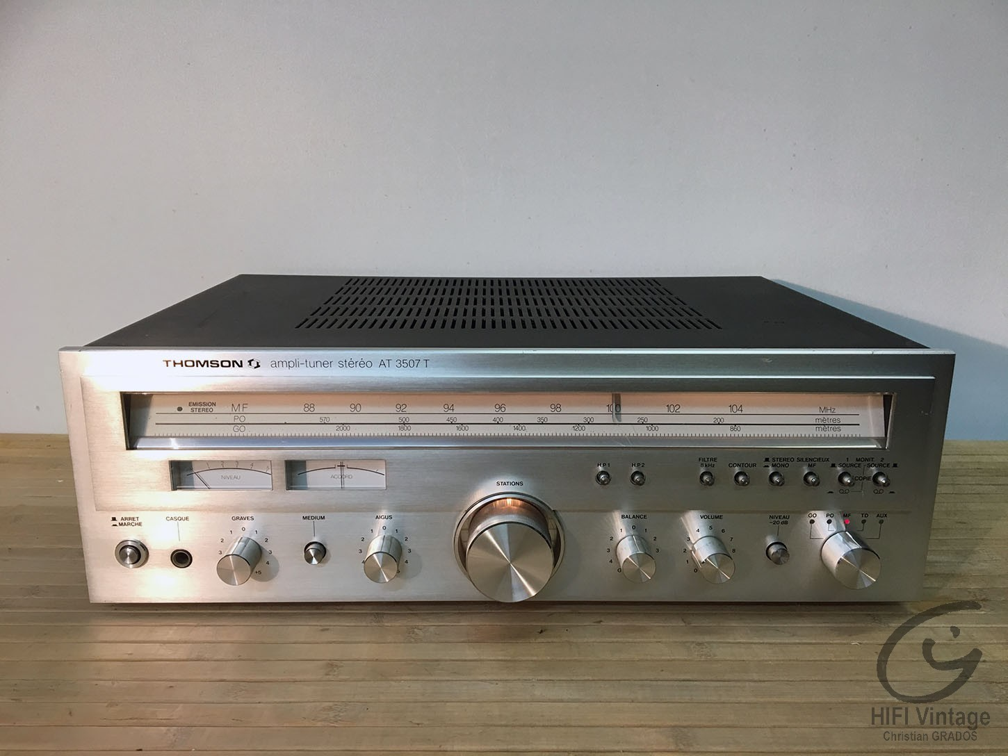 THOMSON AT-3507T Hifi vintage réparations