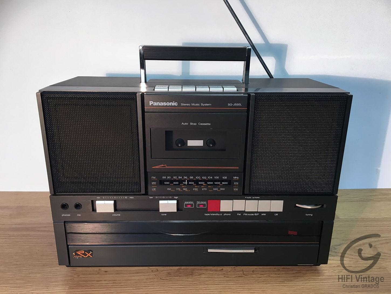 PANASONIC SG-J550L Hifi vintage réparations