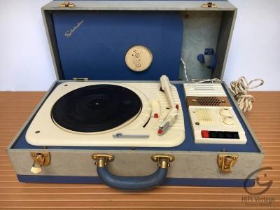 Hifi Vintage CPV Electrophone bleu Mono
