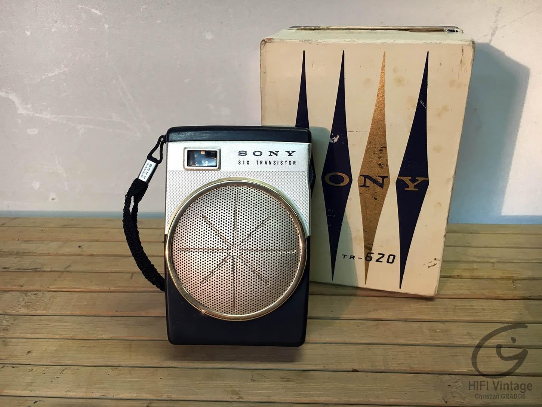 SONY TR-620 Hifi vintage réparations