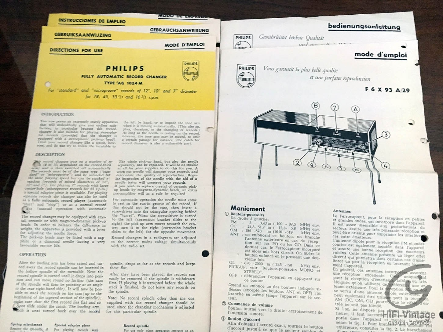 PHILIPS F-6-X93-A29