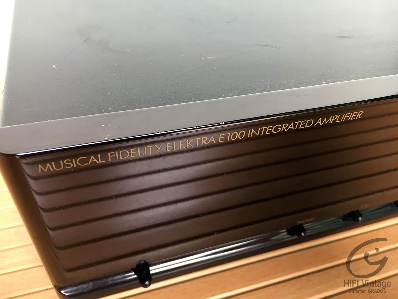 MUSICAL FIDELITY ELEKTRA E-100