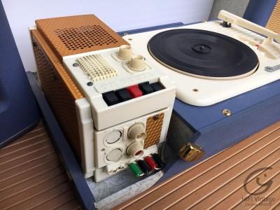 Hifi Vintage CPV Electrophone bleu Stéréo