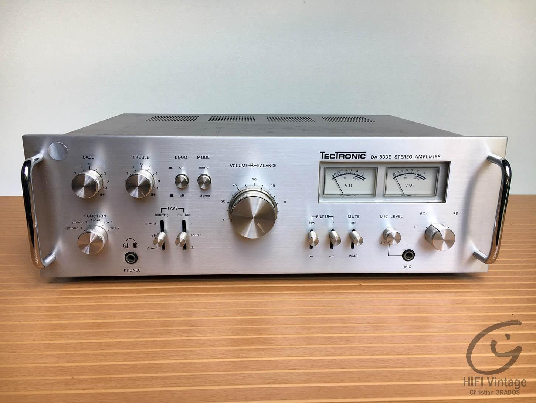 TECTRONIC DA-800-E Hifi vintage réparations