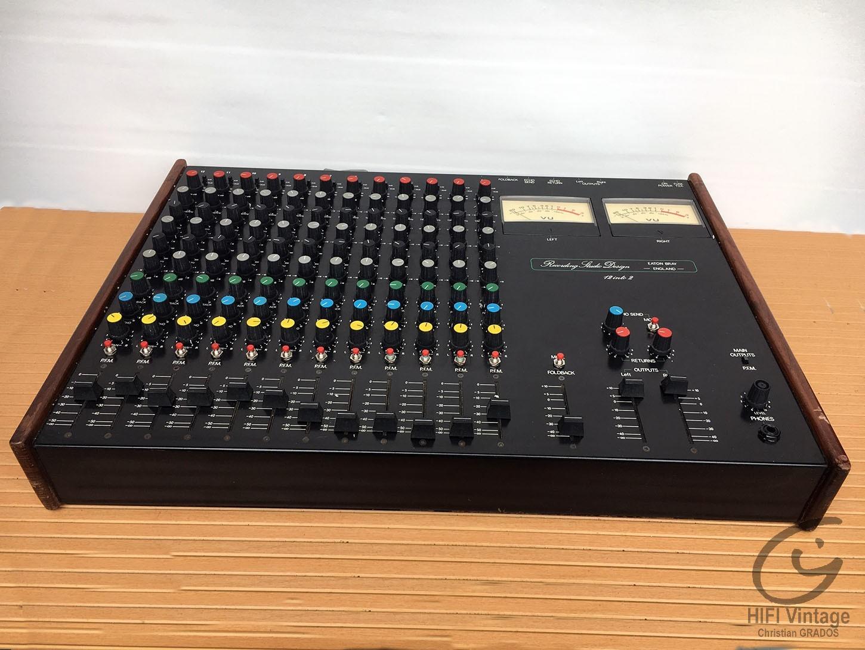RECORDING STUDIO Design 12 to 2 Hifi vintage réparations
